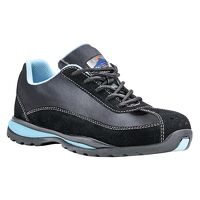 Steelite Ladies Safety Trainer S1P HRO (Black / 40         6 / R)