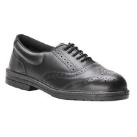 Steelite Executive Brogue S1P (Black / 47 / R)