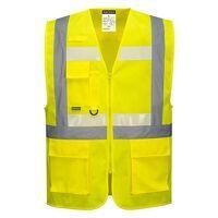 Glowtex Ezee Zip Executive Vest (Yellow / XXL / R)