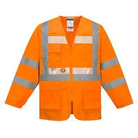 Glowtex Executive Jacket (Orange / Small / R)