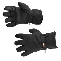 Fleece Glove Insulatex Lined (Black / R)