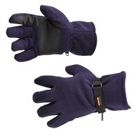 Fleece Glove Insulatex Lined (Navy / R)