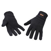Knit Glove Insulatex Lined (Black / R)