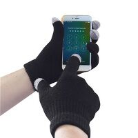Touchscreen Knit Glove (Black / SM / R)