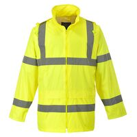 Hi-Vis Rain Jacket (Yellow / 5XL / R)