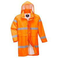 Hi-Vis Coat 100cm (Orange / Small / R)