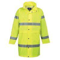 Hi-Vis Coat 100cm (Yellow / Small / R)