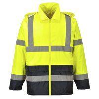 Hi-Vis Classic Contrast Rain Jacket (YeBk / XXL / ...