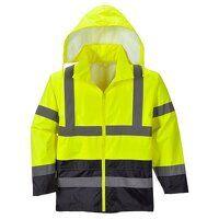 Hi-Vis Classic Contrast Rain Jacket (YeNa / XL / R...