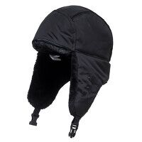Winter Trapper Cap (Black / R)