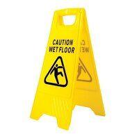 Wet Floor Warning Sign (Yellow / R)