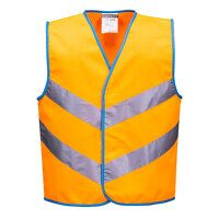 Junior Colour Bright Vest (Orange / Large / R)