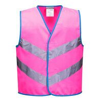 Junior Colour Bright Vest (Pink / Large / R)