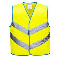 Junior Colour Bright Vest (Yellow / Small / R)