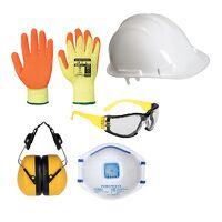 Everyday PPE Kit (White / Large / R)