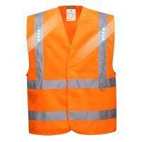 Vega LED Vest (Orange / LXL / R)