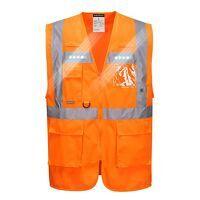 Orion LED Executive Vest (Orange / 3 XL / R)