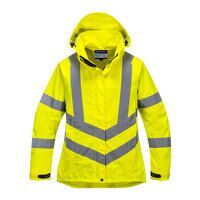 Ladies Hi-Vis Breathable Jacket (Yellow / XXL / R)