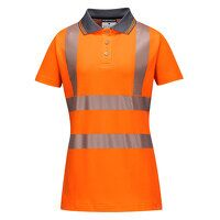 Ladies Pro Polo Shirt (Orange / Medium / R)