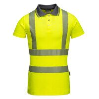 Ladies Pro Polo Shirt (Yellow / Large / R)