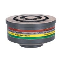 ABEK1 Gas Filter Special Thread Connection (Grey / R)