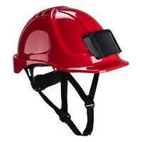 Endurance Badge Holder Helmet (Red / R)