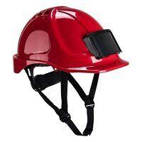 Endurance Badge Holder Helmet (Red / R)