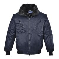 Pilot Jacket (Navy / 5XL / R)