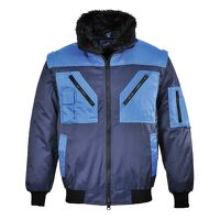 Two Tone Pilot Jacket (Navy / 5XL / R)