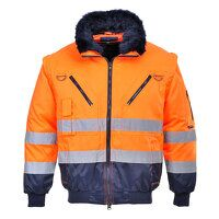 Hi-Vis 3-in-1 Pilot Jacket (OrNa / XL / R)