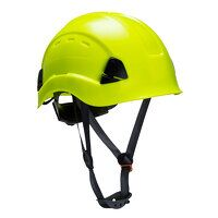Height Endurance Vented Helmet (Yellow / R)