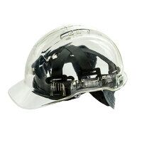 Peak View Hard Hat Vented (Clear / R)