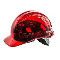 Peak View Hard Hat Vented (Red / R)