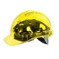Peak View Plus Hard Hat (Yellow / R)