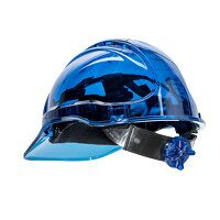 Peak View Ratchet Hard Hat Vented (Blue / U)