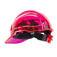 Peak View Plus Ratchet Hard Hat (Pink / R)