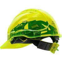 Peak View Plus Ratchet Hard Hat (Yellow / R)