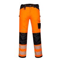 PW3 Hi-Vis Work Trousers (OrBk / UK34 EU50  F / R)
