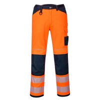 PW3 Hi-Vis Work Trousers (OrNa / UK28 EU44  F / R)
