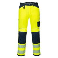 PW3 Hi-Vis Work Trousers (YeNa / UK41 EU56  F / R)