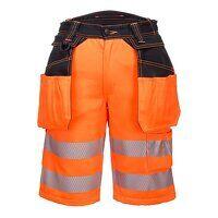 PW3 Hi-Vis Holster Shorts (OrBk / 33 / R)