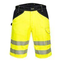PW3 Hi-Vis Shorts (YeBk / 38 / R)