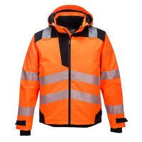 PW3 Extreme Breathable Rain Jacket (OrBk / Large / R)