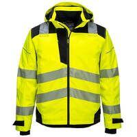PW3 Extreme Breathable Rain Jacket (YeBk / Large / R)