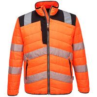 PW3 Hi-Vis Baffle Jacket (OrBk / Medium / R)