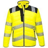 PW3 Hi-Vis Baffle Jacket (YeBk / 3 XL / R)