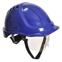 Endurance Plus Visor Helmet (Royal / R)