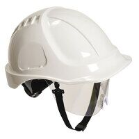 Endurance Plus Visor Helmet (White / R)