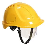 Endurance Plus Visor Helmet (Yellow / R)