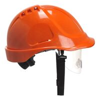 Endurance Visor Helmet (Orange / R)